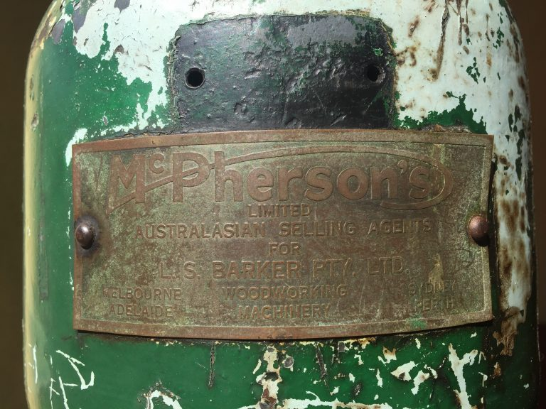 metal, name, plaque, woodwork, machinery | See more at www.diywoman.net