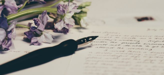 fountain pen, writing, journal, flowers | See more at www.diywoman.net