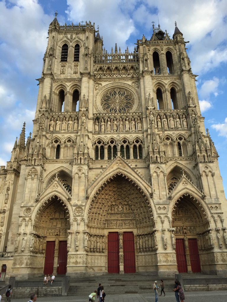 Amiens, cathedral, France, Somme | See more at www.diywoman.net