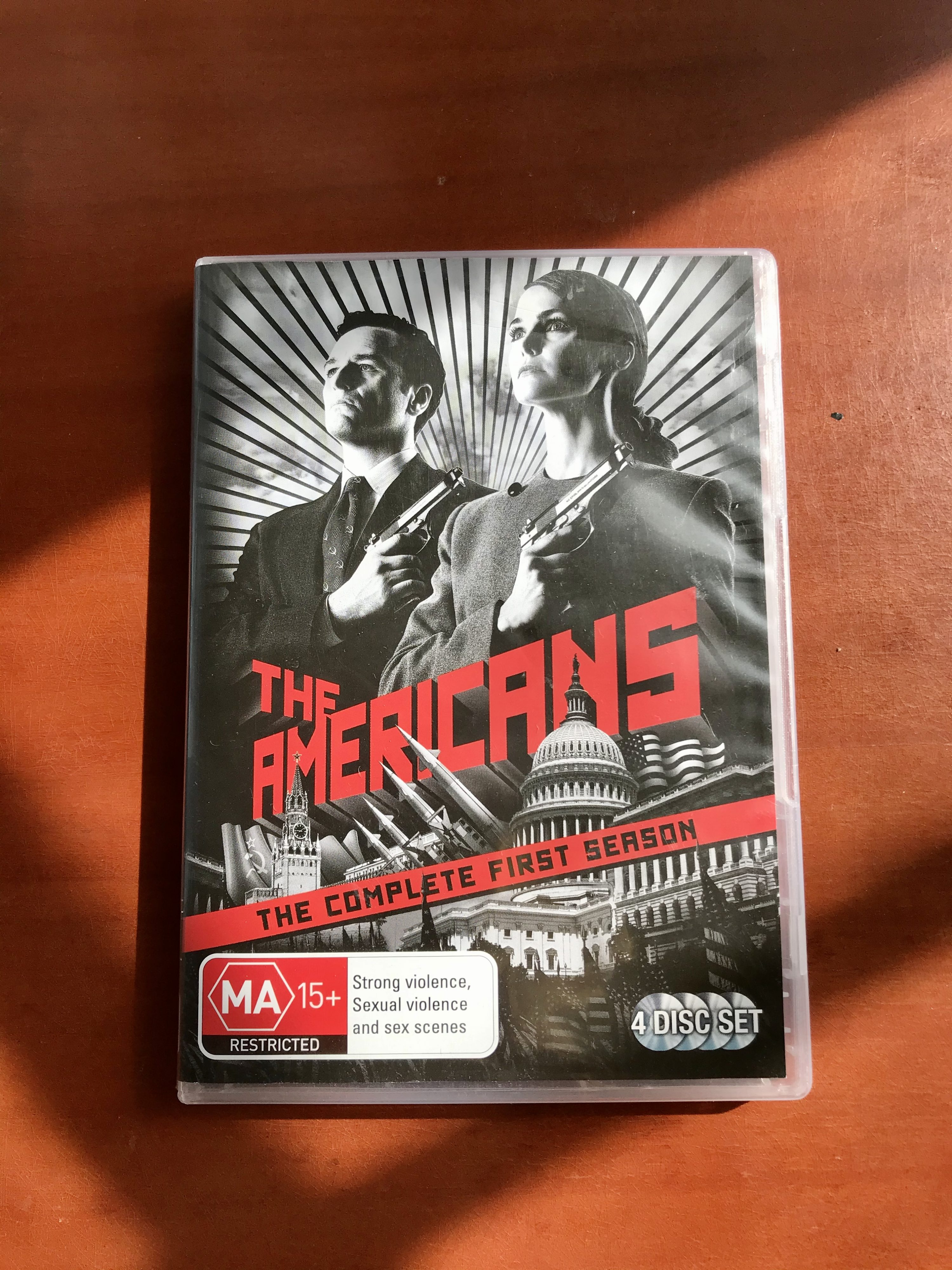 The DVD cover of The Americans Series One - the perfect companion for isolation