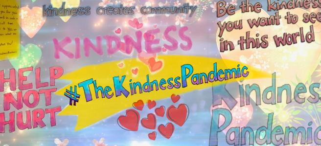The Kindness Pandemic artwork